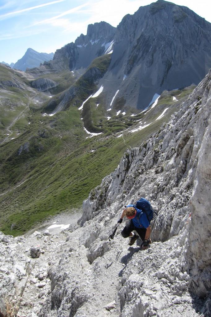 Rumer Spitze über Kreuzjöchl (36)
