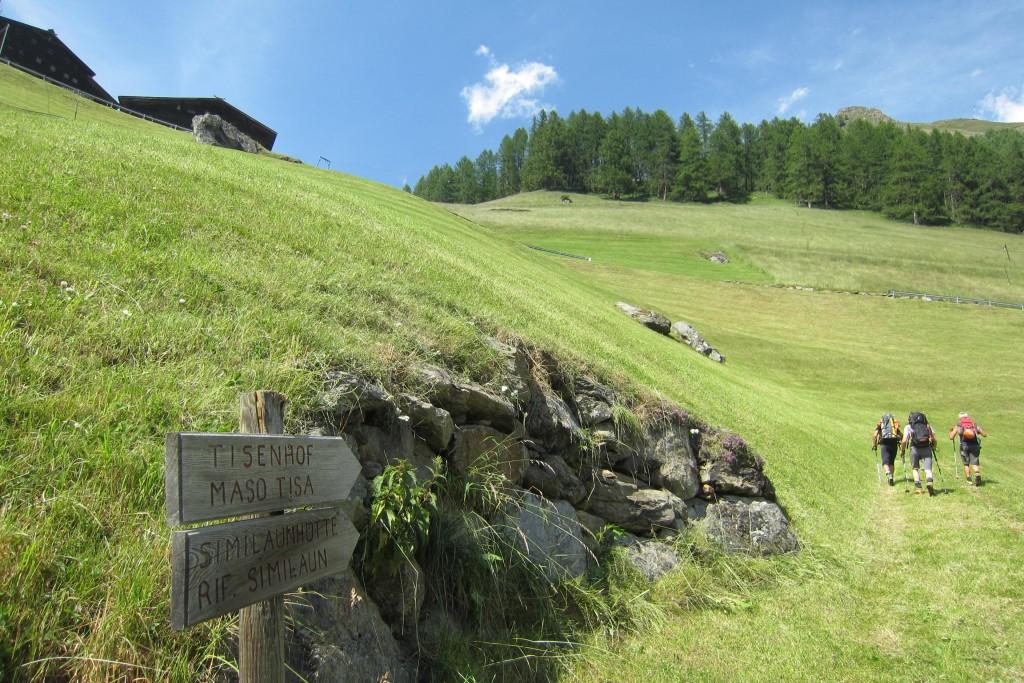 Aufstieg Similaunhütte (2)
