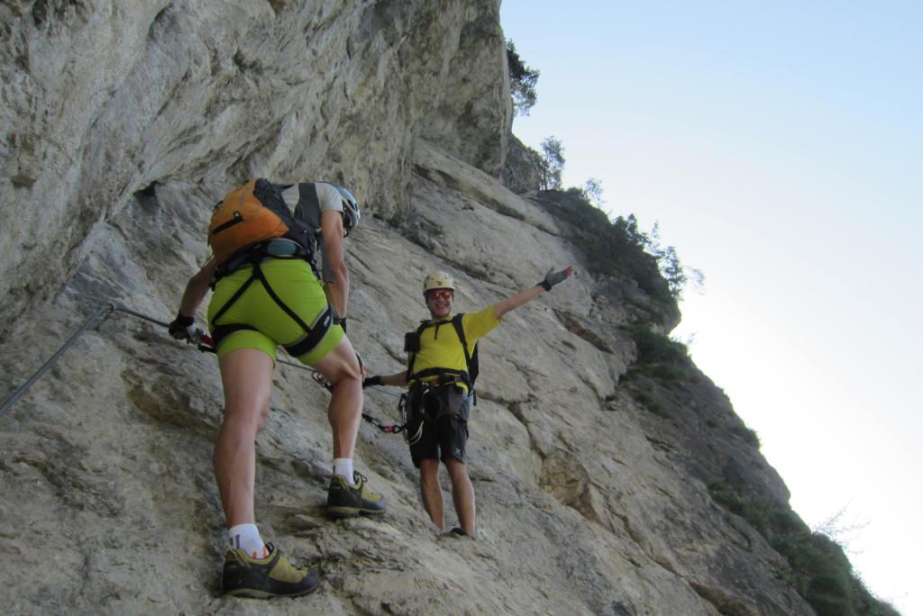 Reintaler See Klettersteig (13)