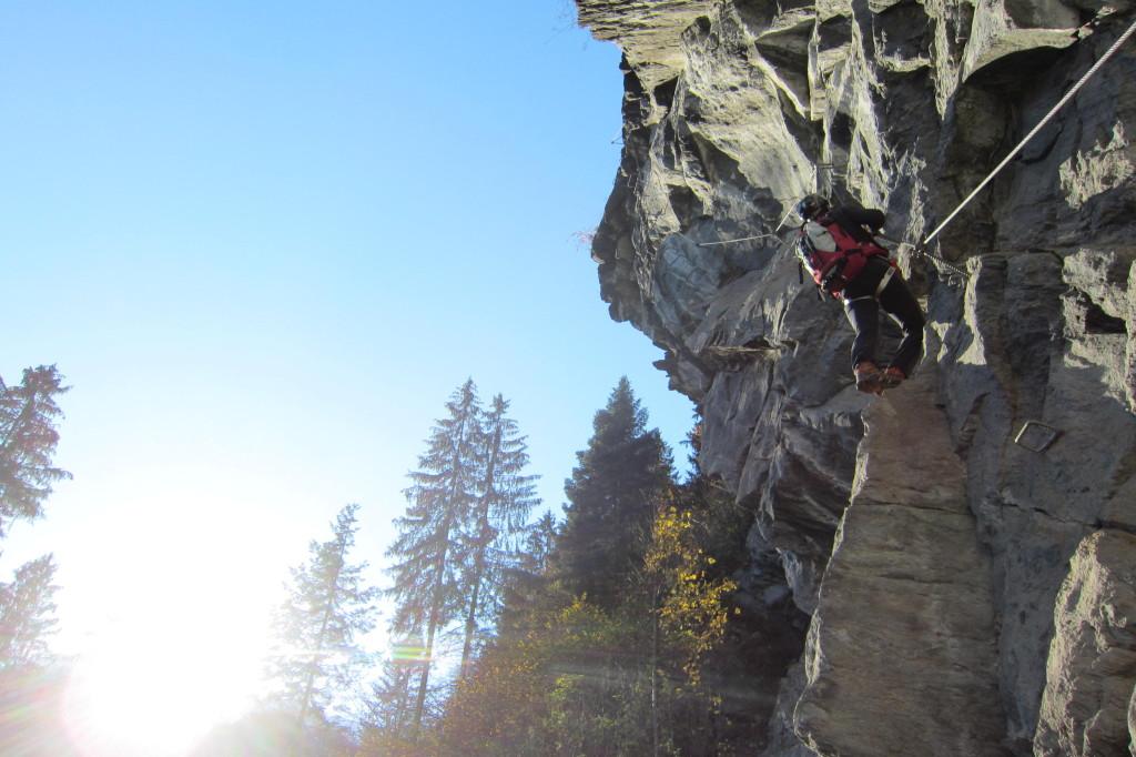 Klettersteig Mayrhofen (8)