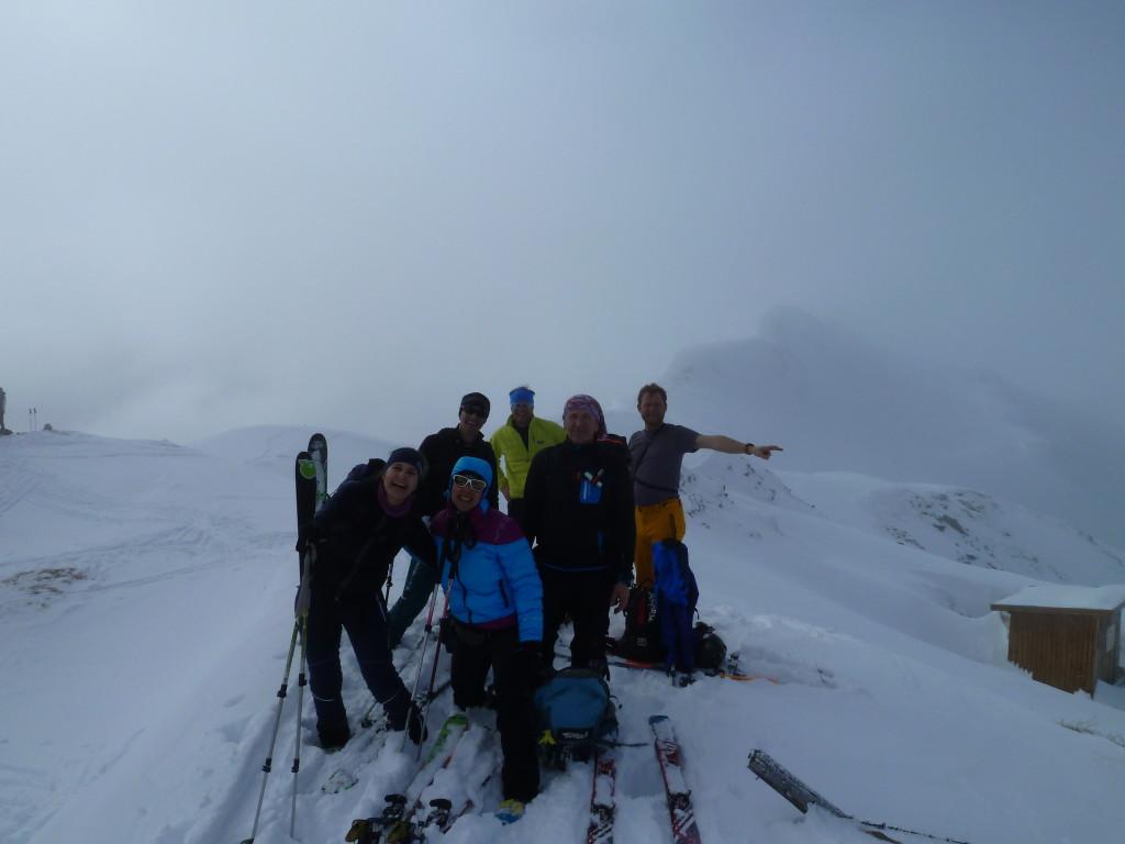 Silbersattel Gipfel